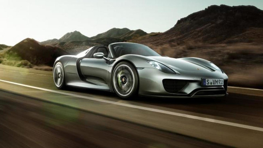 Porsche 918 Spyder & 911 50th Anniversary Edition headed to Pebble Beach