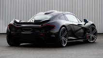 McLaren P1 with Gemballa GForged-one wheels 23.12.2013