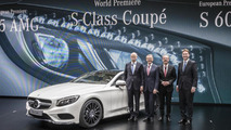 2014 Mercedes-Benz S-Class Coupe at 2014 Geneva Motor Show