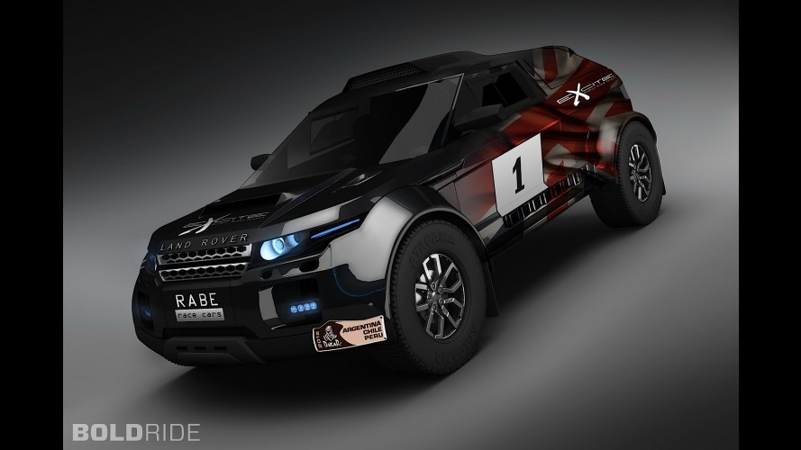 Land Rover Range Rover Evoque Dakar Rally by RaBe