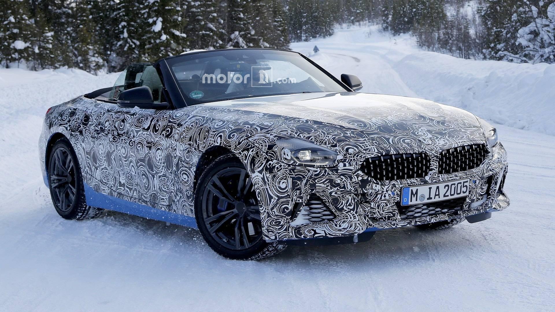 2018 - [BMW] Z4 (G29) - Page 5 2019-bmw-z4-spy-photo