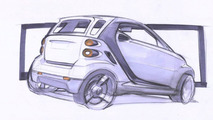 New smart fortwo sketch