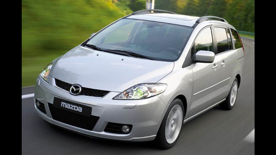 Mazda 5 mit Diesel: Minivan mit Maxi-Drehmoment