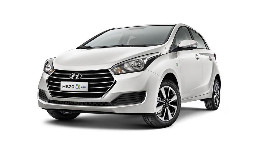 Hyundai comemora 5 anos do HB20