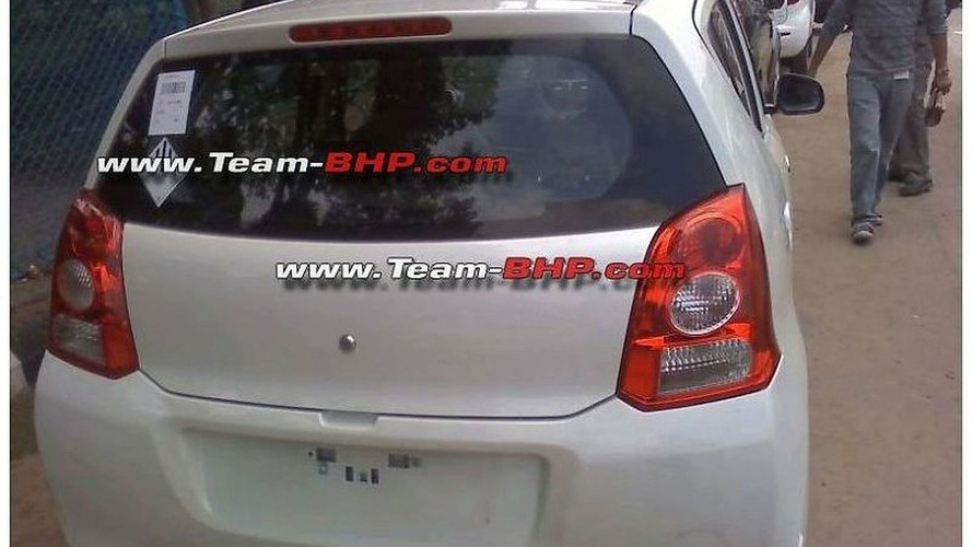 Suzuki A-Star Spied in India