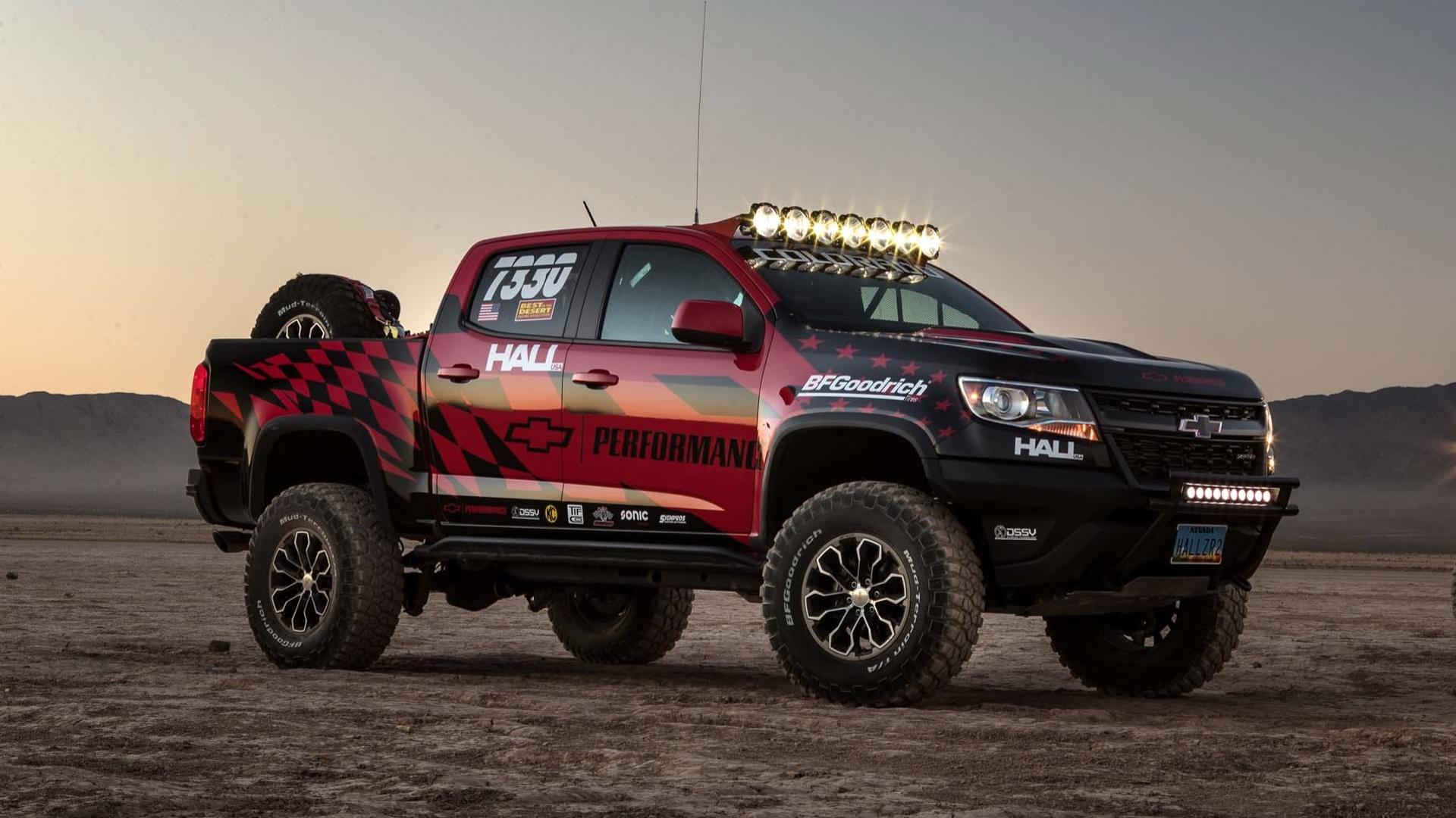 Chevy Colorado Zr2 Goes To Nevada For Off Road Compeion Debut