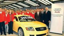 250,000th Audi TT Leaves Production Line