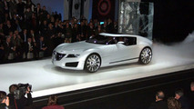 Saab Aero X Concept Live in Geneva