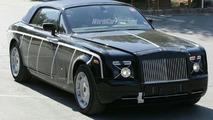 Rolls Royce Corniche Convertible Spy Photos