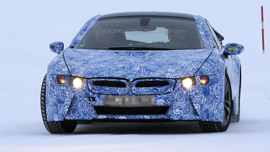 BMW i8 production version details spilled