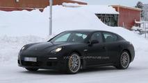 2013 Porsche Panamera facelift spy photos 20.01.2012