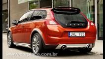 Novo Volvo C30 2010 - Fotos oficiais do modelo reestilizado vazam na internet