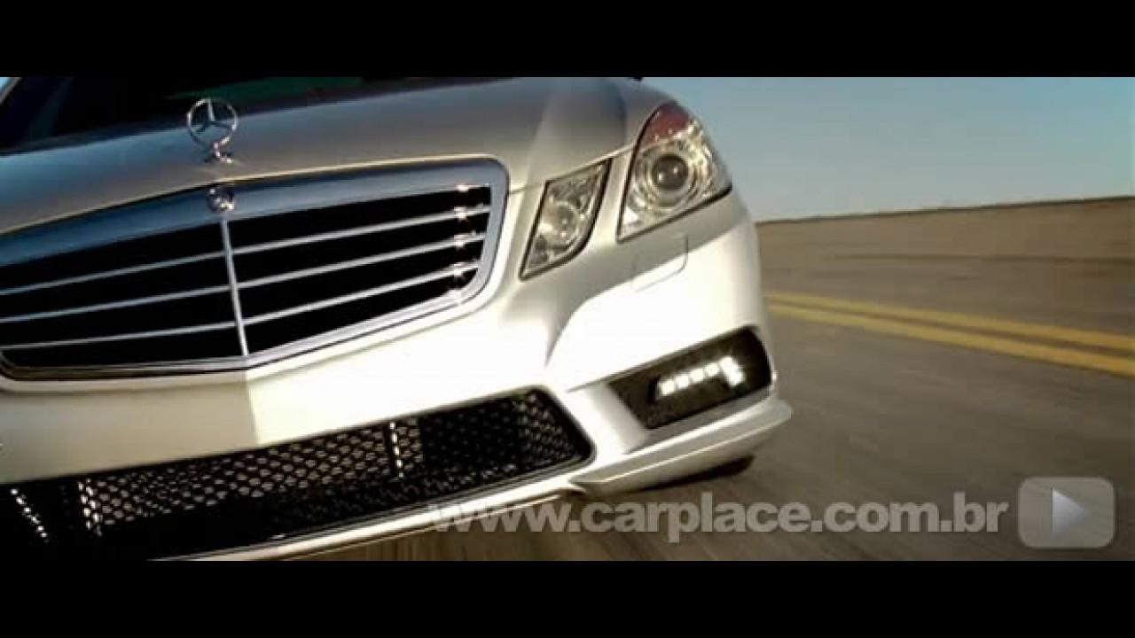 Vídeos mostram detalhes do Novo Mercedes Classe E 2010 - No Brasil custa R$ 269,9 mil