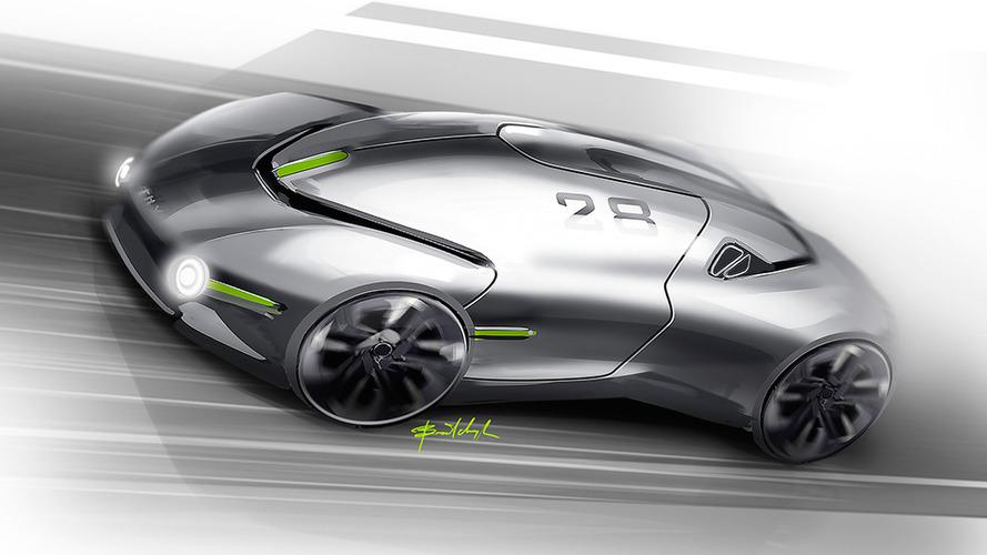 THX sports car concept previews a next-generation EV