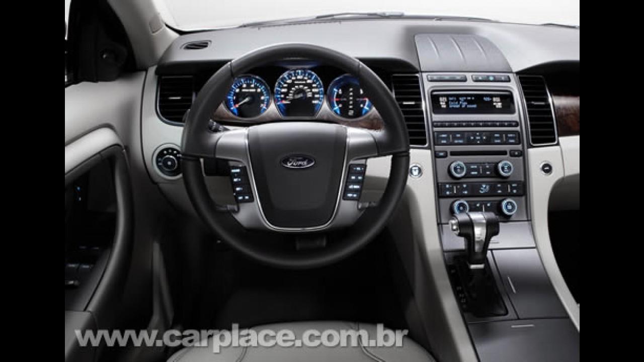 Novo Ford Taurus 2010 - Nova geração é apresentada no Salão de Detroit