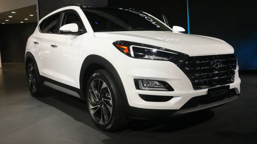 2019 Hyundai Tucson at the 2018 New York Auto Show photo