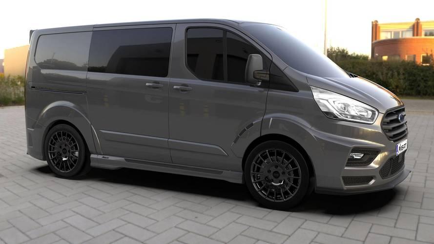 Wicked Looking MS-RT Transit Custom Van Coming Soon To UK