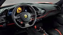Ferrari 488 Pista sızan resmi fotoğraf