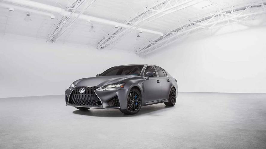 Lexus GS F, RC F 10th Anniversary Special Editions
