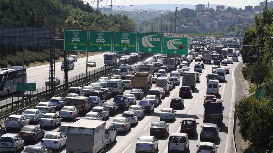 Türkiye'nin trafiğe kayıtlı araç sayısı belli oldu
