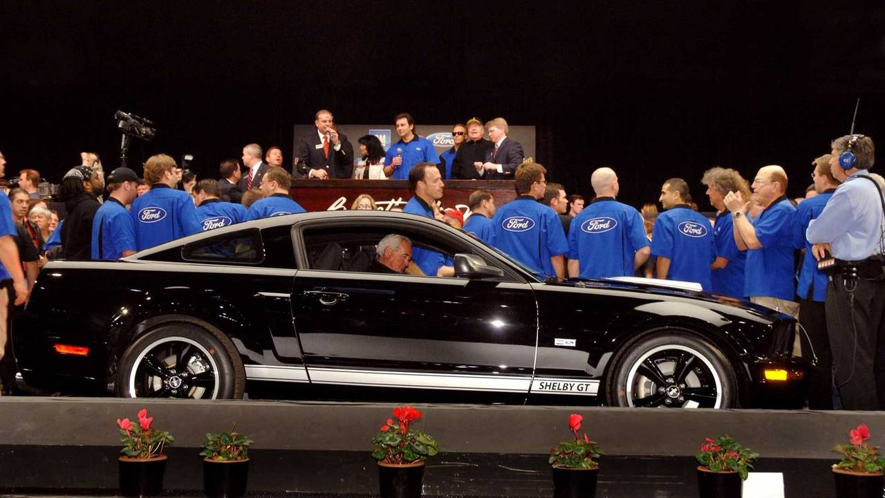 5. 2007 Shelby GT - $660,000