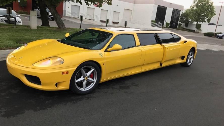 Senkinek sem kellett a limuzinná alakított Ferrari F360