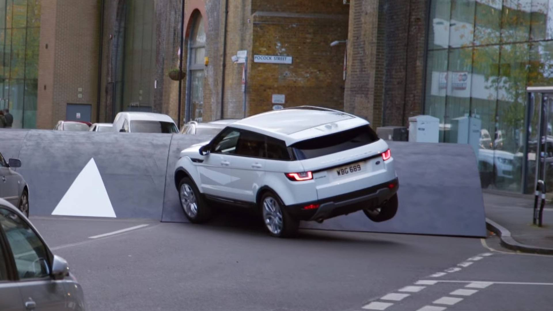 Range Rover Evoque Goes Against The Mother Of All Speed Bumps
