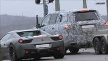 2019 Mercedes GLS screenshot from spy video