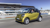 smart fortwo cabrio dorado