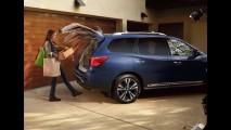 Nissan Pathfinder 2017 estreia com visual atualizado e motor mais potente
