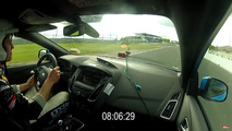 Ford Focus RS Sport Auto 'Ring lap