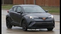 Toyota já estuda versão esportiva para o C-HR, afirma executivo