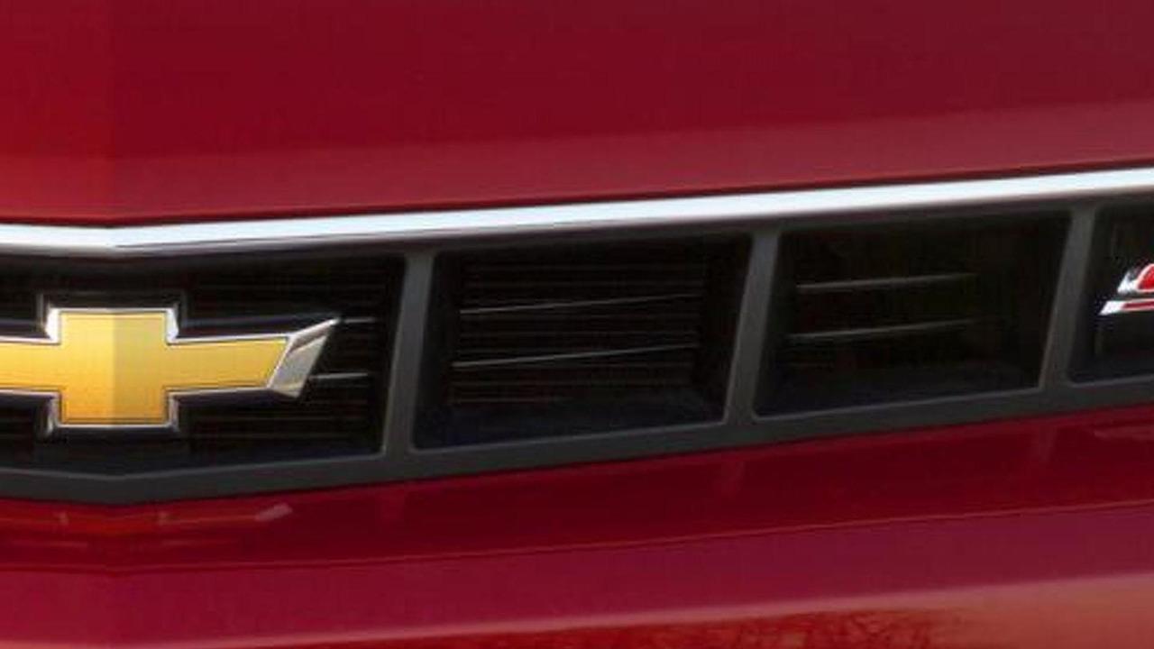 2014 Chevrolet Camaro SS teaser image 20.3.2013