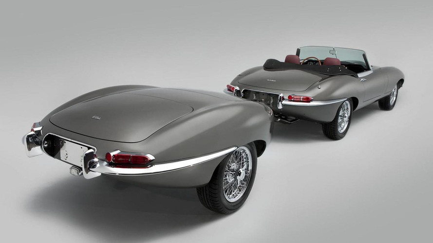 Restored Jaguar E-Type gains stretched wheelbase and a matching trailer