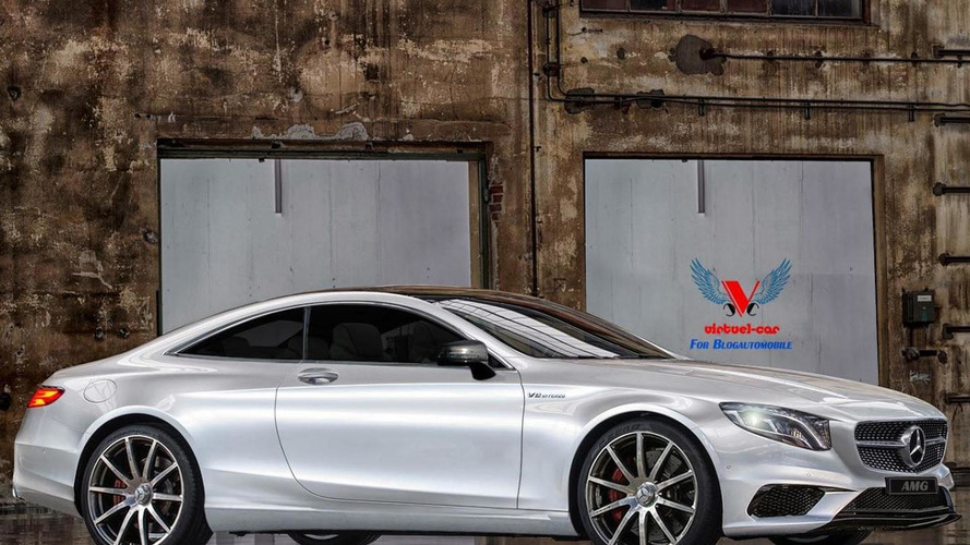 2015 Mercedes-Benz S63 AMG Coupe rendered for your pleasure