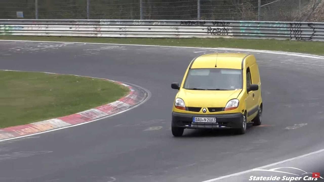 Vans at the Nurburgring