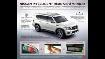Nissan Armada e lo specchietto intelligente