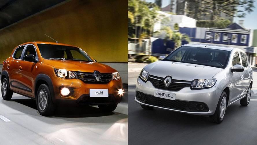 Mais vendidos em abril (preliminar): Renault coloca Kwid e Sandero no top 10
