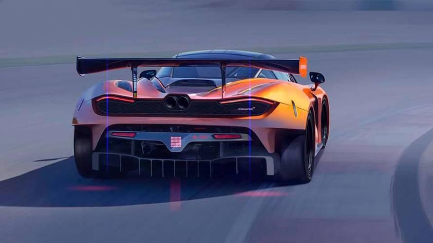McLaren 720S GT3 Teaser