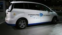 Mazda Premacy Hydrogen RE Hybrid live in Tokyo