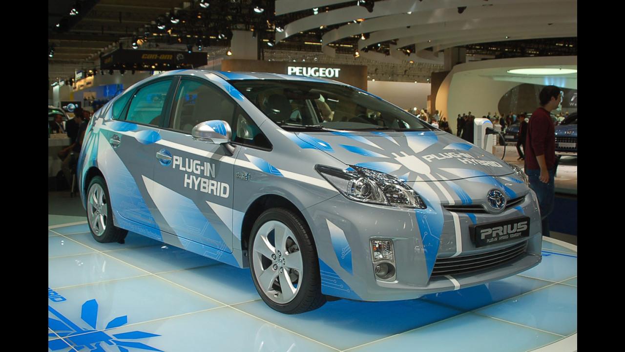 Toyota Prius plug-in concept al Salone di Francoforte 2009