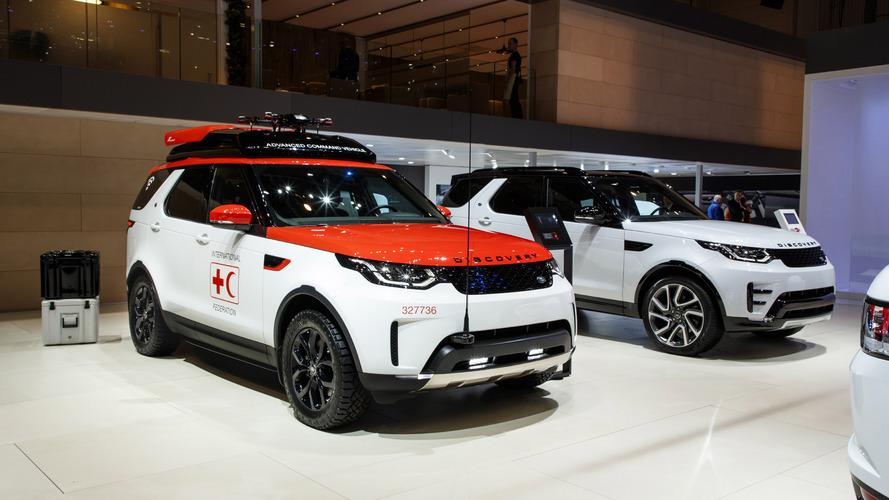 Land Rover Discovery Project Hero, un gran coche de salvamento