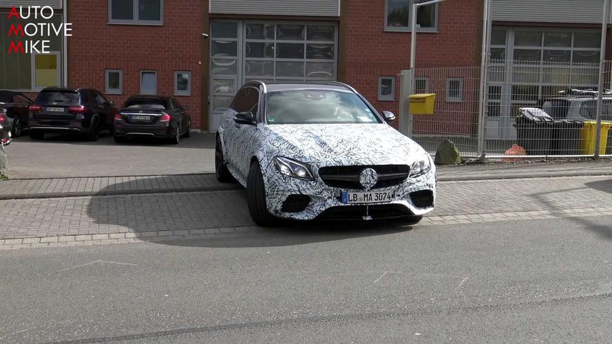 Possible Mercedes-AMG E63 R Wagon spy photos