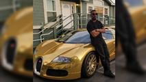Jamie Foxx Gold Bugatti Veyron