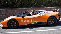 Lamborghini Huracan Performante Spyder Spied