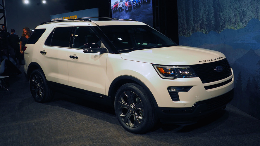 2018 ford explorer updates in new york with more tech safety. Black Bedroom Furniture Sets. Home Design Ideas