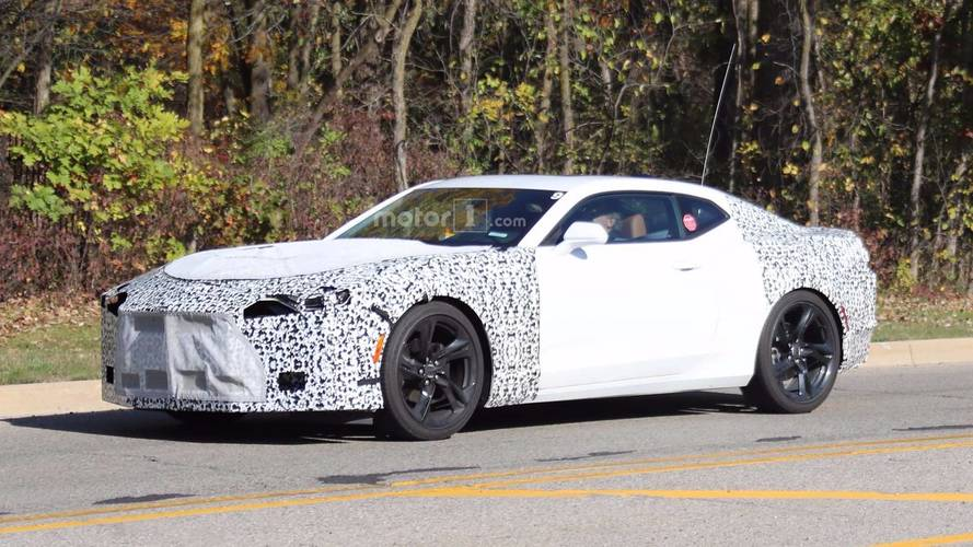 CARB Filing Points To 2019 Chevy Camaro With 7-Speed Manual