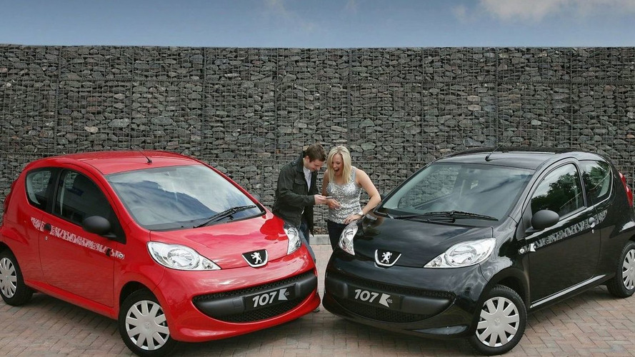 Peugeot 107 Kiss Special Edition (UK)