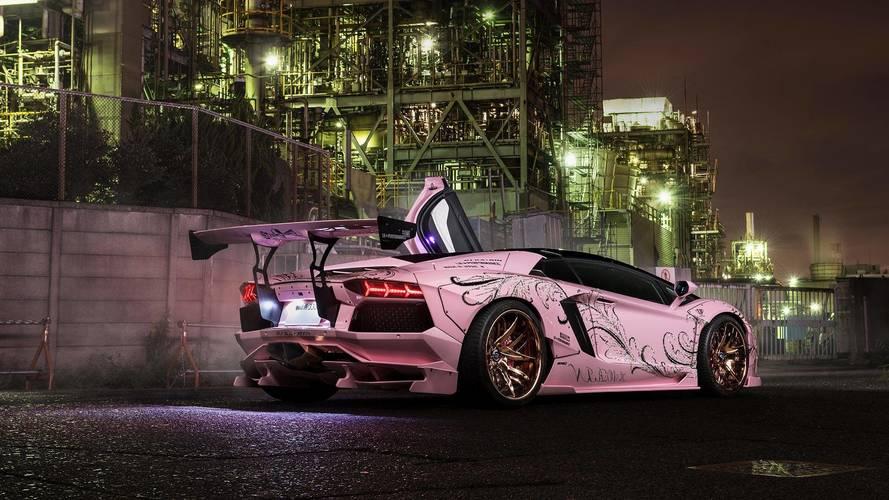 A Forgiato is meglátta a fantáziát a rózsaszínű Aventadorban