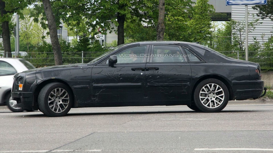 Rolls-Royce Ghost Spied in Munich Showing New Details